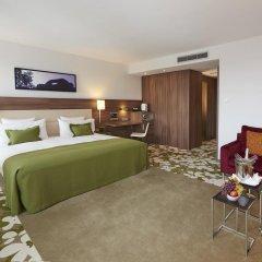 Отель Meliá Düsseldorf 4* Люкс разные типы кроватей фото 2