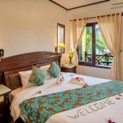 Отель Agribank Hoi An Beach Resort 3* Номер Делюкс с различными типами кроватей фото 14