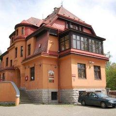 Отель Penzion Pivovar Volt Яблонец-над-Нисой парковка