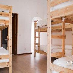 Hostel Casa d'Alagoa Кровать в общем номере с двухъярусной кроватью фото 5