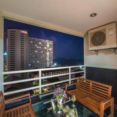 Отель View Talay 5 Jomtien Beach Паттайя балкон
