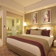 Отель Radisson Hyderabad Hitec City 4* Улучшенный номер с различными типами кроватей фото 2