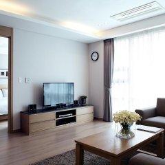 Отель Fraser Place Central Seoul 4* Улучшенные апартаменты с различными типами кроватей фото 3