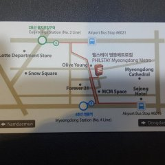 Отель Philstay Myeongdong Metro Южная Корея, Сеул - отзывы, цены и фото номеров - забронировать отель Philstay Myeongdong Metro онлайн городской автобус