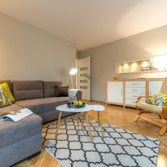 Апартаменты Rondo ONZ P&O Apartments комната для гостей фото 3