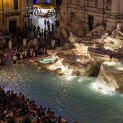 Отель Relais Fontana Di Trevi Рим бассейн