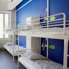 Отель CheapSleep Helsinki Кровать в общем номере с двухъярусной кроватью фото 5
