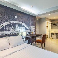 Отель @Hua Lamphong 2* Номер Делюкс с различными типами кроватей фото 2