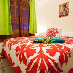 Отель Farehau Стандартный номер с двуспальной кроватью (общая ванная комната)