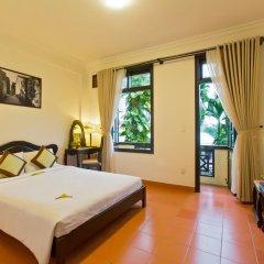 Отель Phu Thinh Boutique Resort & Spa 4* Улучшенный номер с различными типами кроватей фото 2
