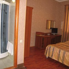 Гостиница Коттедж на Зелёном Стандартный номер с двуспальной кроватью