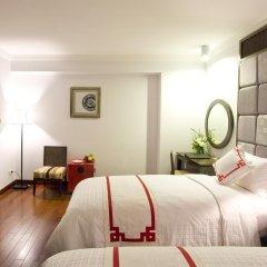 Church Boutique Hotel Hang Trong 3* Улучшенный номер разные типы кроватей фото 3