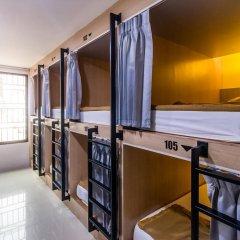 18 Coins Cafe & Hostel Кровать в общем номере с двухъярусными кроватями фото 3
