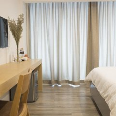 Отель PJ Inn Pattaya 3* Студия с различными типами кроватей фото 4