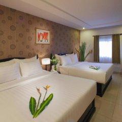 Sunrise Central Hotel 3* Стандартный семейный номер с двуспальной кроватью фото 6