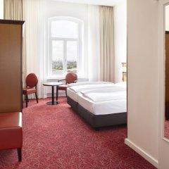 Hotel Hafen Hamburg 4* Стандартный номер разные типы кроватей фото 3