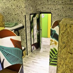 Chillout Hostel Zagreb Кровать в общем номере с двухъярусной кроватью фото 14