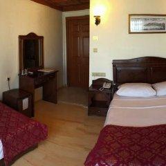 Saruhan Hotel 3* Стандартный номер с двуспальной кроватью фото 11