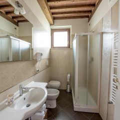 Отель Albergo La Foresteria Синалунга ванная фото 2