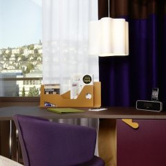 25hours Hotel Zürich West 4* Номер Silver с двуспальной кроватью фото 18
