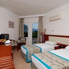 Hatipoglu Beach Hotel 3* Стандартный номер с различными типами кроватей