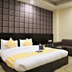 Отель FabHotel Aksh Palace Golf Course Road 3* Номер Делюкс с различными типами кроватей фото 2