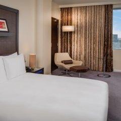 Отель Hilton London Canary Wharf 4* Номер Делюкс с различными типами кроватей фото 3