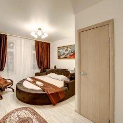 Гостиница Статус 3* Люкс двуспальная кровать фото 5