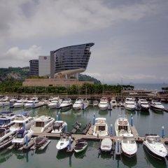 Отель Shenzhen Marina Club Шэньчжэнь приотельная территория