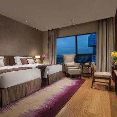 Отель Ascott Raffles City Chengdu Студия Делюкс с различными типами кроватей