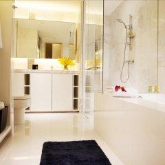 Отель Grand Copthorne Waterfront 4* Улучшенный номер с различными типами кроватей фото 4