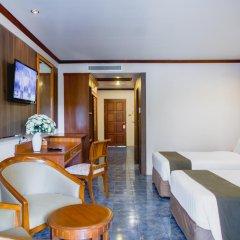Отель Thanthip Beach Resort 3* Улучшенный номер с различными типами кроватей
