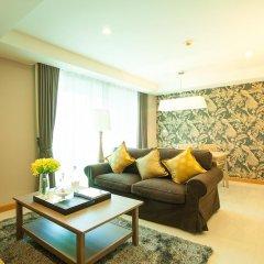 Отель Rocco Huahin Condominium Люкс с различными типами кроватей фото 7