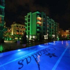 Отель Cascadas Studio Болгария, Солнечный берег - отзывы, цены и фото номеров - забронировать отель Cascadas Studio онлайн бассейн фото 3