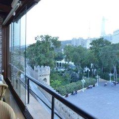 Отель Ичери Шехер Азербайджан, Баку - отзывы, цены и фото номеров - забронировать отель Ичери Шехер онлайн балкон