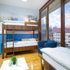 Hostel Bureau Кровать в общем номере с двухъярусной кроватью фото 11