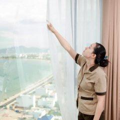Muong Thanh Grand Nha Trang Hotel 4* Номер Делюкс с различными типами кроватей фото 8