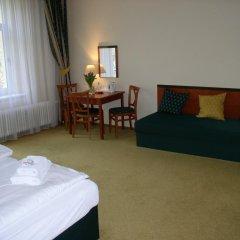 Отель Villa Gloria 2* Номер Делюкс с различными типами кроватей фото 5
