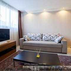 Отель Defne Suites Улучшенные апартаменты с различными типами кроватей фото 21