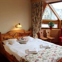Отель Pensjonat Zakopianski Dwór 3* Стандартный номер с двуспальной кроватью фото 3