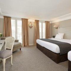 Отель Hôtel Louvre Montana 4* Стандартный номер с различными типами кроватей фото 3