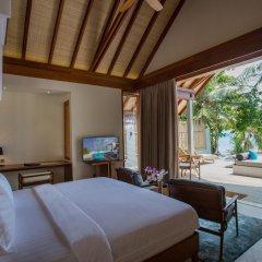 Отель Furaveri Island Resort & Spa 5* Вилла Garden с различными типами кроватей фото 9