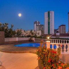 Отель Abahana Villa La Higuera бассейн