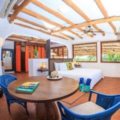 Отель Las Nubes de Holbox 3* Люкс с различными типами кроватей фото 4