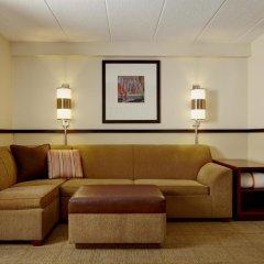 Отель Hyatt Place Ontario / Rancho Cucamonga 3* Стандартный номер с различными типами кроватей фото 4