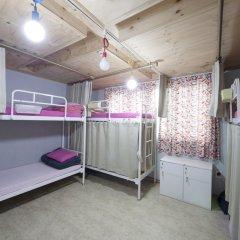 Lazy Fox Hostel Кровать в мужском общем номере с двухъярусной кроватью фото 9