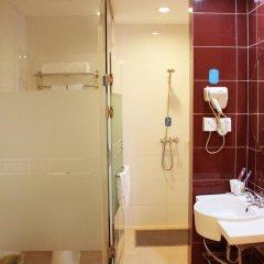 Отель Hanting EXpress Hangzhou Yuhang Zhongtai Road Китай, Ханчжоу - отзывы, цены и фото номеров - забронировать отель Hanting EXpress Hangzhou Yuhang Zhongtai Road онлайн ванная фото 2