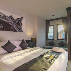 Отель The Rich Sotel 3* Номер Делюкс с различными типами кроватей фото 4