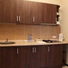 Гостиница Горная Резиденция АпартОтель Семейные апартаменты с двуспальной кроватью фото 12