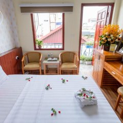 The Queen Hotel & Spa 3* Стандартный семейный номер разные типы кроватей фото 6